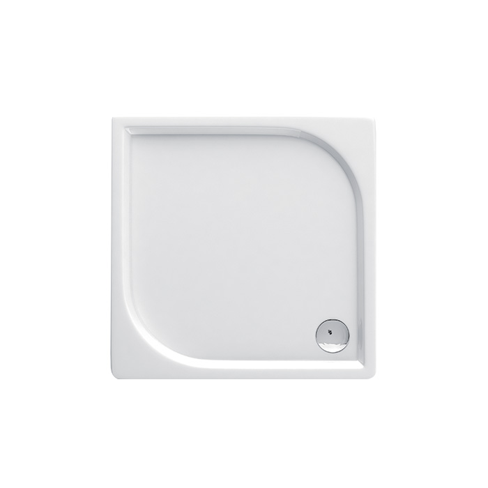 Curych 041B (Akrylátová sprchová vanička nízká - čtverec Curych 041B)