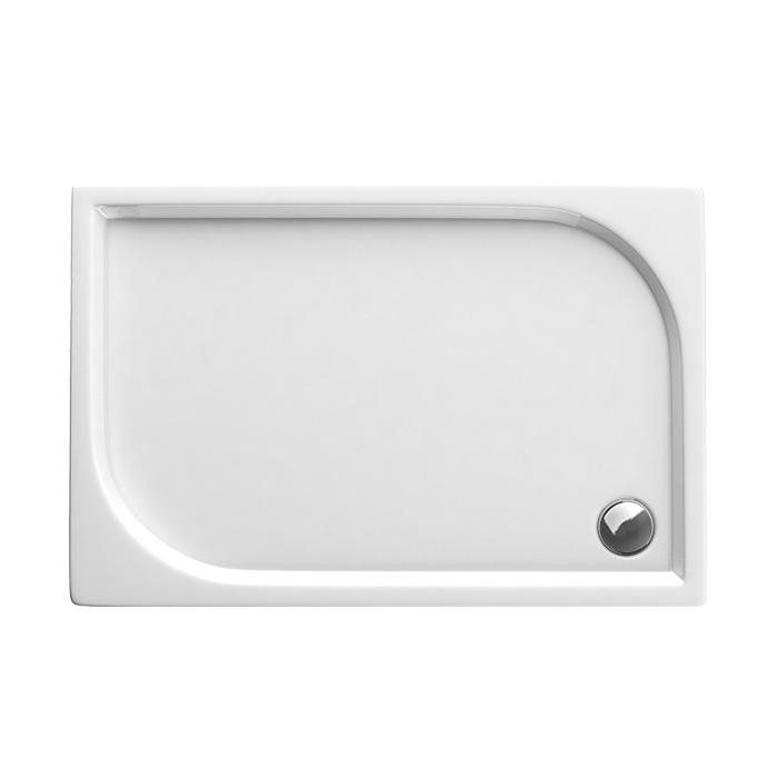 Curych 043B (Akrylátová sprchová vanička nízká - obdélník Curych 043B)