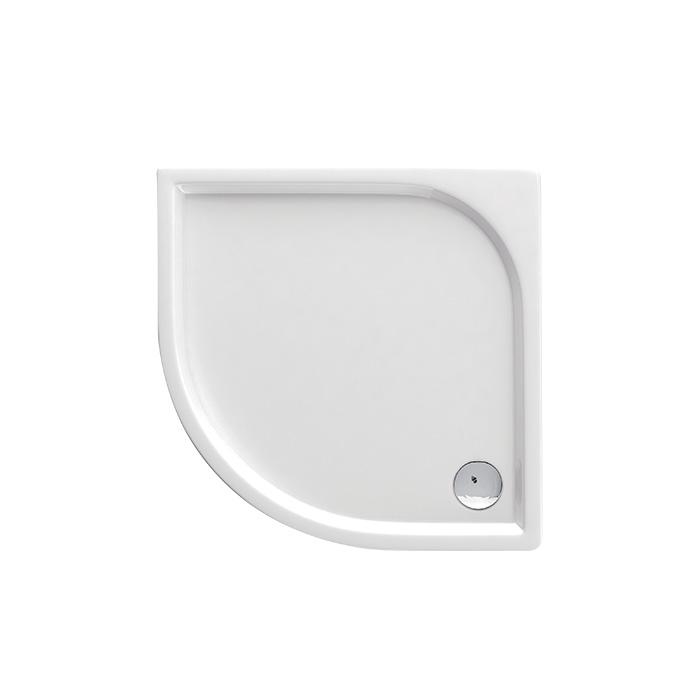 Curych 051B (Akrylátová sprchová vanička nízká - čtvrtkruh Curych 051B)