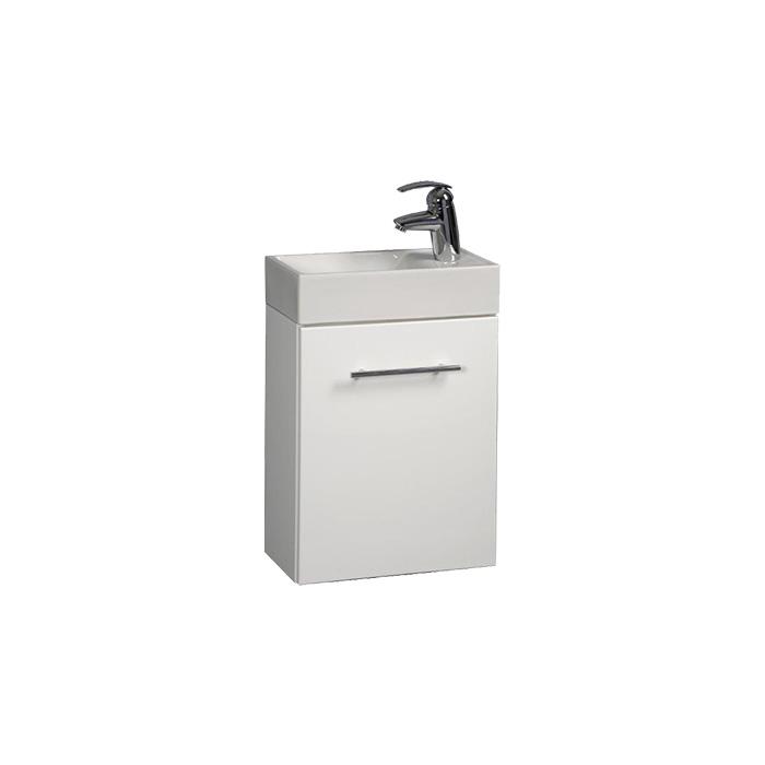 Darja 40 (Koupelnová skříňka závěsná s umyvadlem z litého mramoru Darja 40)