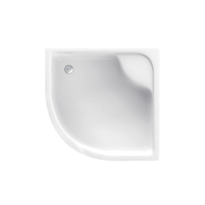 Denver 041B (Akrylátová sprchová vanička hluboká - čtvrtkruh Denver 041B)