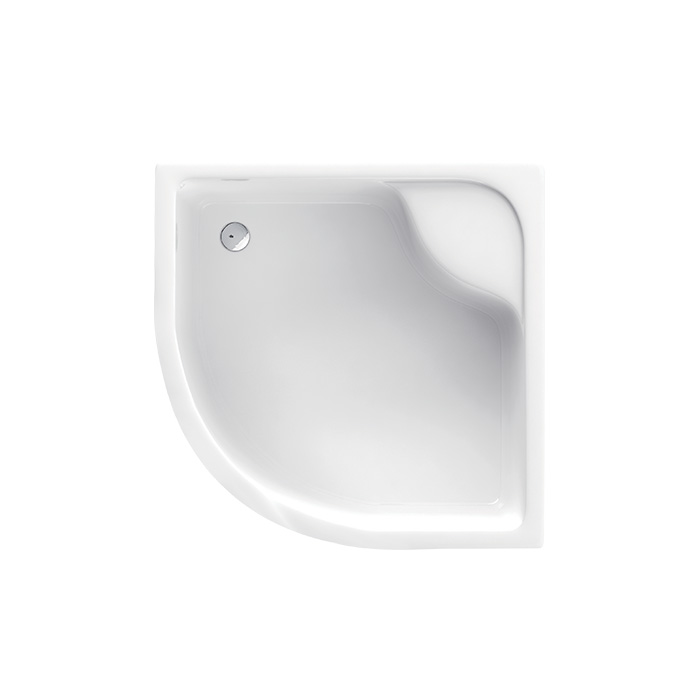 Denver 042B (Akrylátová sprchová vanička hluboká - čtvrtkruh Denver 042B)