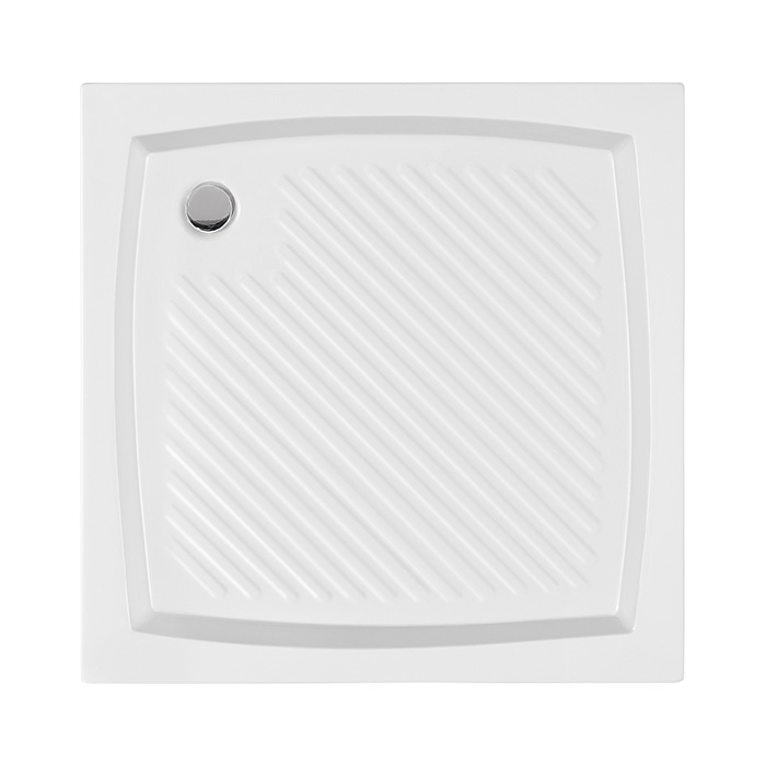 Erik 80 CVC (Akrylátová sprchová vanička nízká - čtverec Erik 80 CVC)