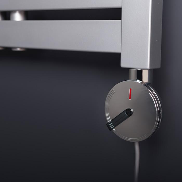 ETT300W / chrom (Elektrické topné těleso s termostatem ETT300W / chrom)