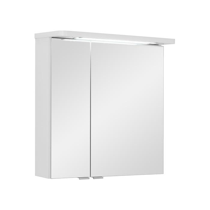 Zrcadlová skříňka závěsná s LED osvětlením George W 60 ZS