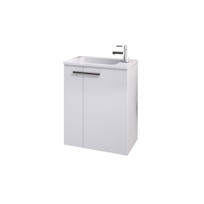Leon 50 (Koupelnová skříňka závěsná s umyvadlem z litého mramoru Leon 50)