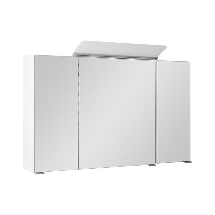 Zrcadlová skříňka závěsná s LED osvětlením Livie W 100 ZS