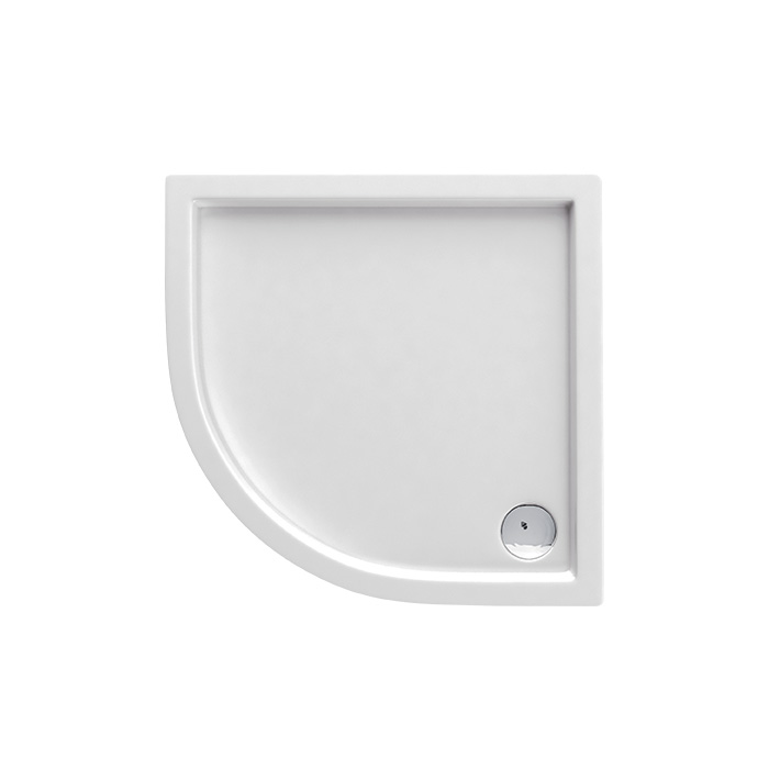 Malaga N 053B (Akrylátová sprchová vanička nízká - čtvrtkruh Malaga N 053B)