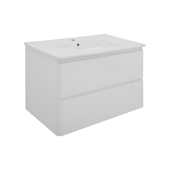 Maroko NEW 60 (Koupelnová skříňka závěsná zásuvková s keramickým umyvadlem Maroko NEW 60)