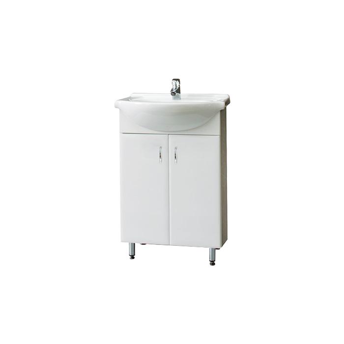 Montreal 55 - DO VYPRODÁNÍ ZÁSOB (Koupelnová skříňka s keramickým umyvadlem Montreal 55)