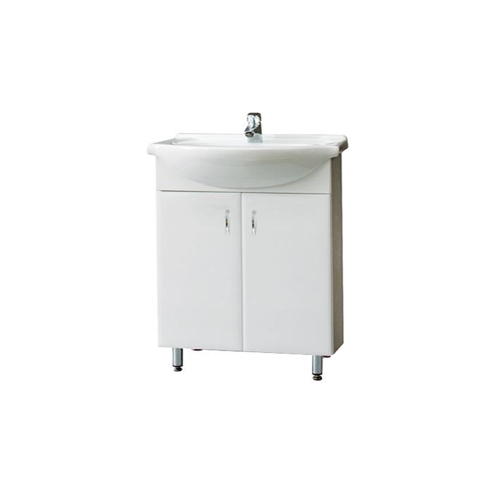Montreal 65 - DO VYPRODÁNÍ ZÁSOB (Koupelnová skříňka s keramickým umyvadlem Montreal 65)