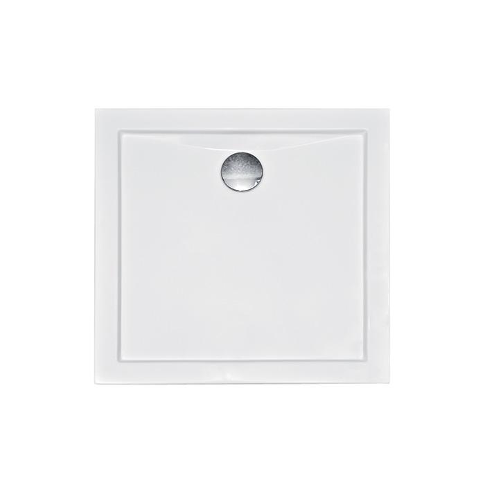 Nora 80 CVC (Akrylátová sprchová vanička nízká - čtverec Nora 80 CVC)