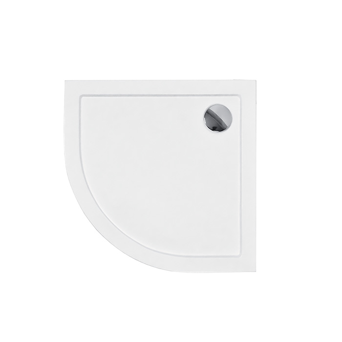 Nora 90 CHK (Akrylátová sprchová vanička nízká - čtvrtkruh Nora 90 CHK)