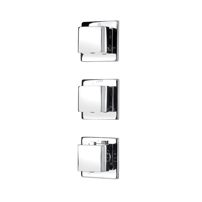 PSOP 09AT (Podomítkový sprchový ovládací panel 09AT)