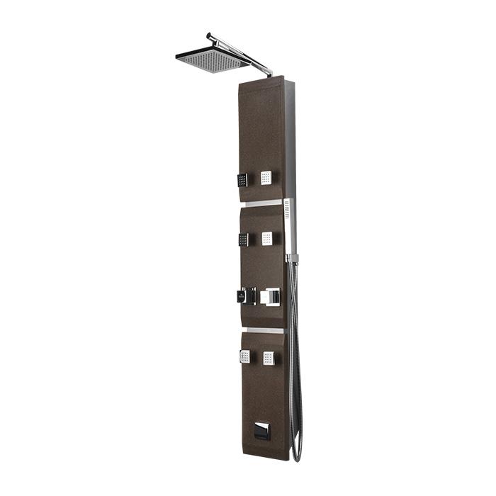 Salerno 451K (Sprchový hydromasážní panel s termostatickou baterií Salerno 451 K)