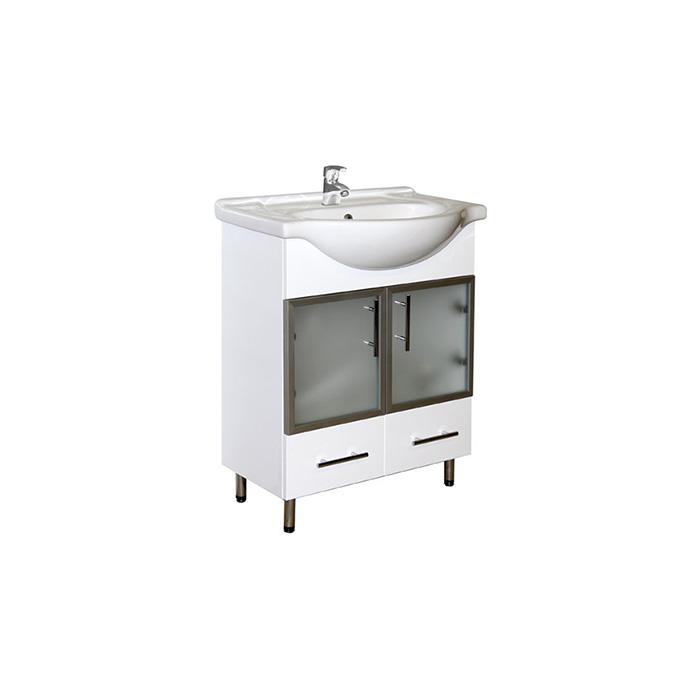 Sáva 65 - DO VYPRODÁNÍ ZÁSOB (Koupelnová skříňka s keramickým umyvadlem Sáva 65)