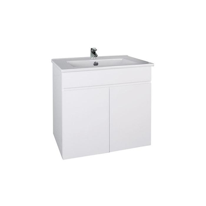 Slim W 60 (Koupelnová skříňka závěsná s keramickým umyvadlem Slim W 60)