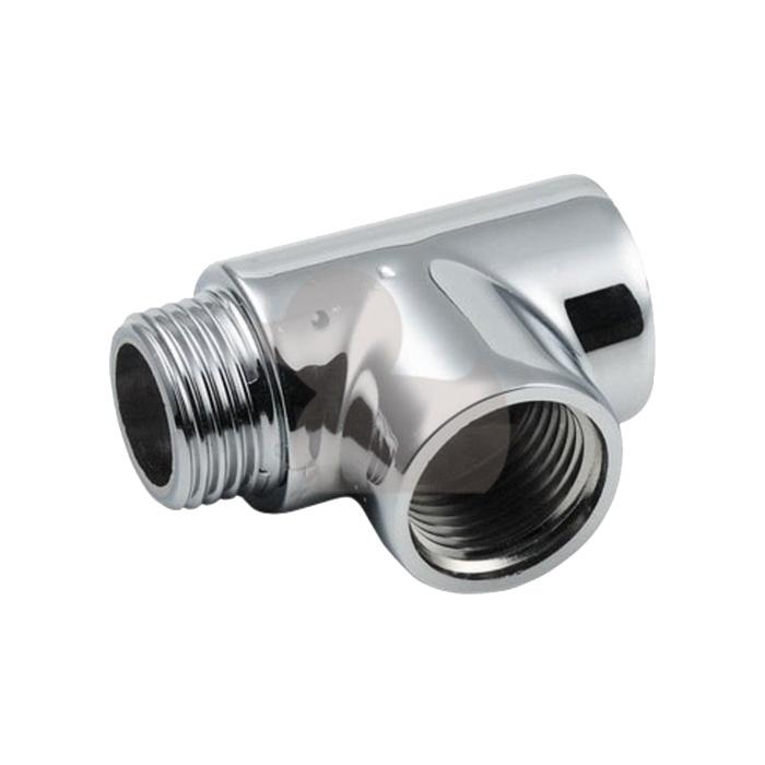 """T-KUS 1/2"""" (T-kus pro kombinované vytápění žebříkových radiátorů T-KUS 1/2"""")"""