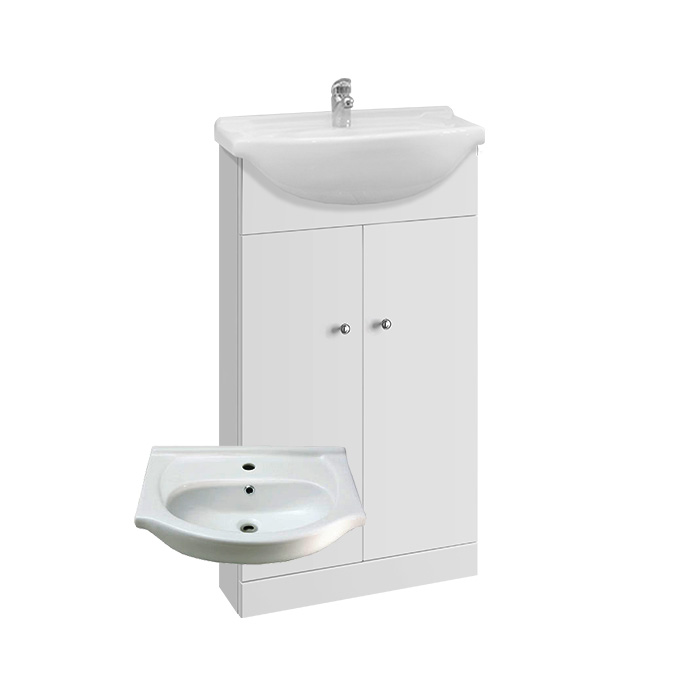 Vilma 45 (Koupelnová skříňka s keramickým umyvadlem Vilma 45)