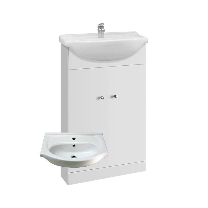 Vilma 55 (Koupelnová skříňka s keramickým umyvadlem Vilma 55)