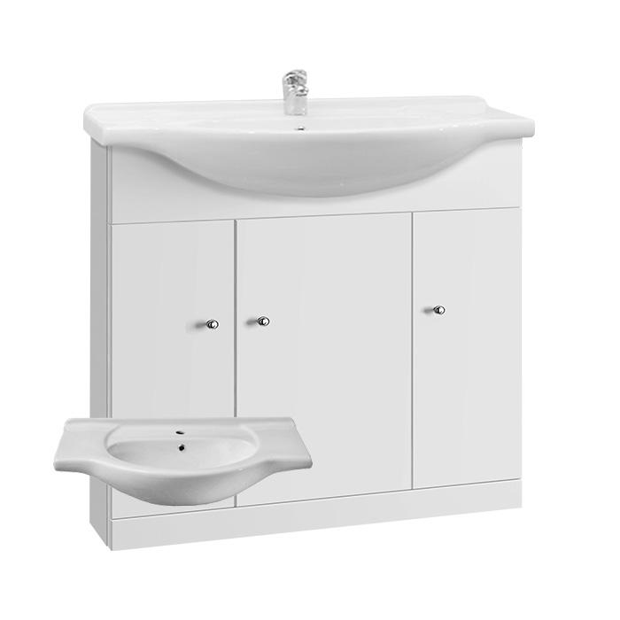 Vilma 85 (Koupelnová skříňka s keramickým umyvadlem Vilma 85)