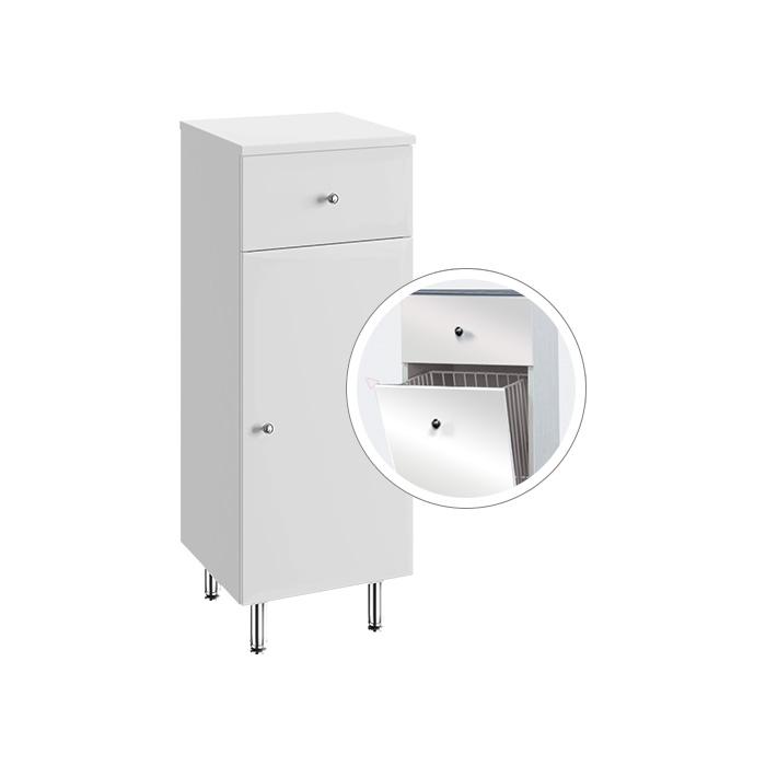 Vilma NK 32 ZV (Koupelnová doplňková skříňka nízká s výklopným košem Vilma NK 32 ZV)