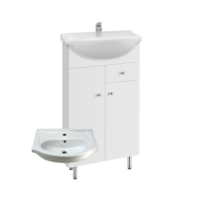 Vilma S 50 ZV (Koupelnová skříňka s keramickým umyvadlem Vilma S 50 ZV)