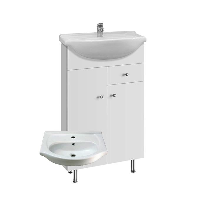 Vilma S 55 ZV (Koupelnová skříňka s keramickým umyvadlem Vilma S 55 ZV)