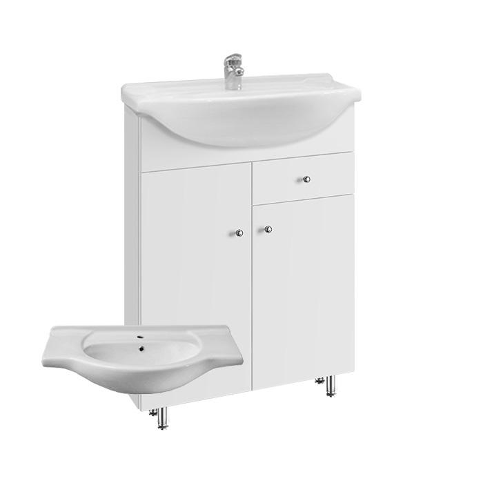 Vilma S 65 ZV (Koupelnová skříňka s keramickým umyvadlem Vilma S 65 ZV)