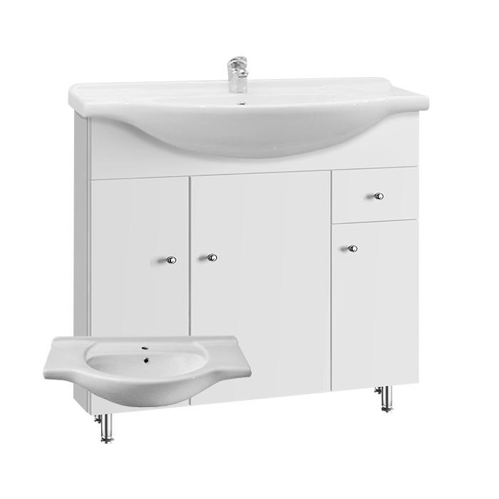 Vilma S 85 ZV (Koupelnová skříňka s keramickým umyvadlem Vilma S 85 ZV)