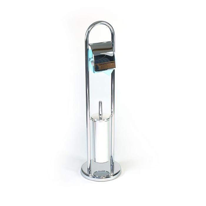 WC-ST0001 (Stojan na WC štětku s držákem toaletního papíru WC-ST0001)