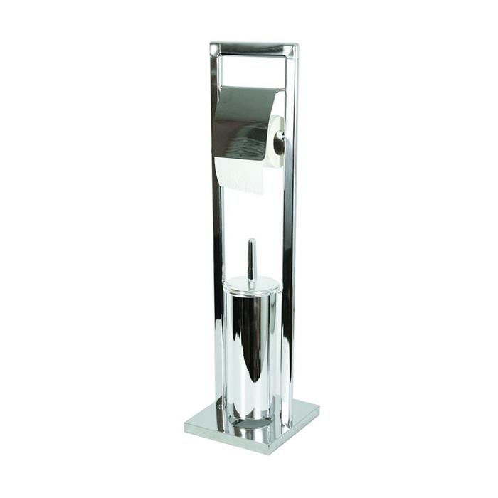 WC-ST0002 (Stojan na WC štětku s držákem toaletního papíru WC-ST0002)