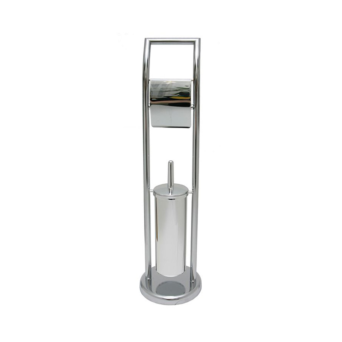 WC-ST0003 (Stojan na WC štětku s držákem toaletního papíru WC-ST0003)