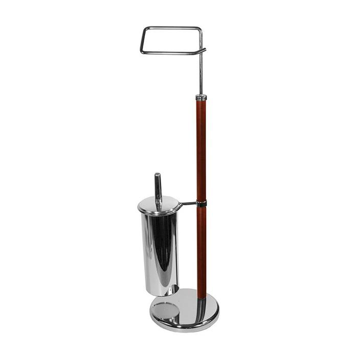 WC-ST0005 (Stojan na WC štětku s držákem toaletního papíru WC-ST0005)